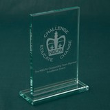 Jade Green Budget Rectangle Award