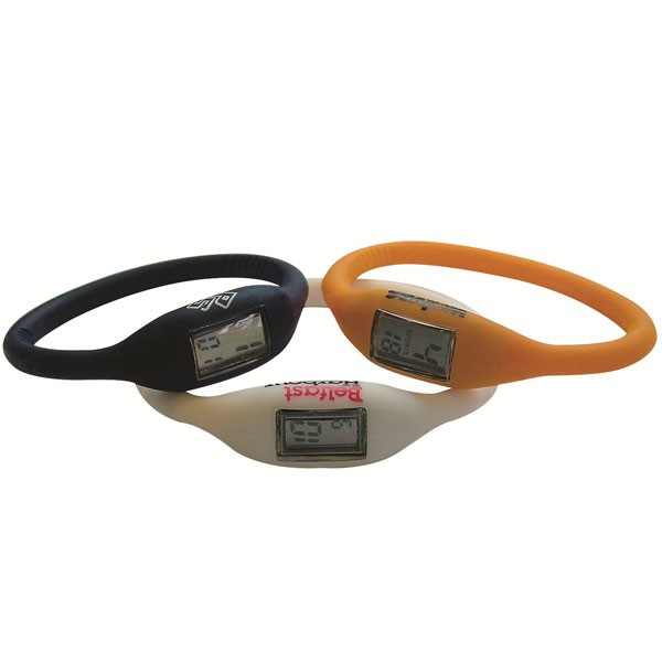 Silicone Ion Sports Watch